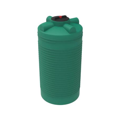 Емкость цилиндрическая для воды и топлива 300л 734х734мм H=890мм